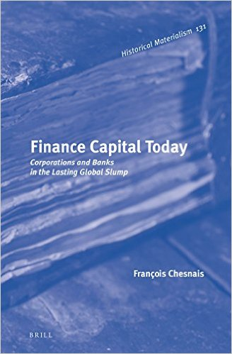 Finance Capital Today Brill cover