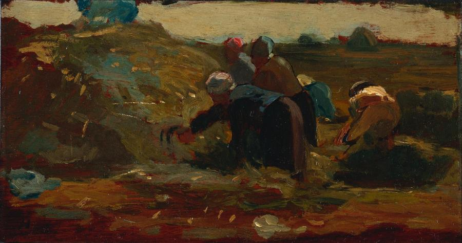 Winslow Homer - Women Working in a Field