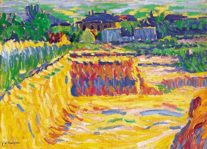 The Loam Pit- Ernst Ludwig Kirchner