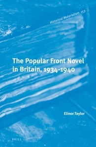 The Popular Front Novel in Britain book cover