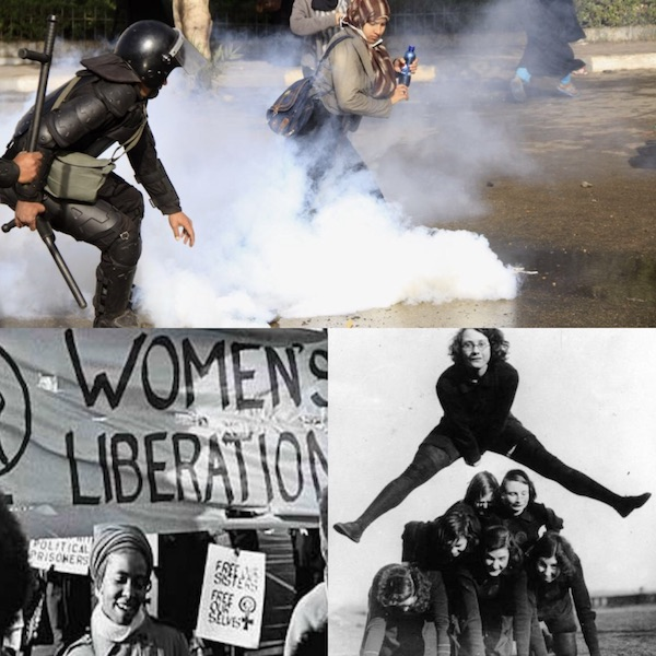 Women protests across the world