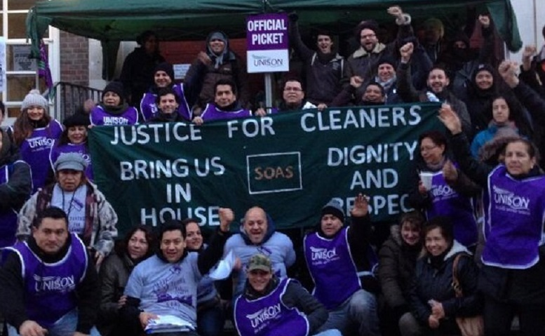 SOAS Justice for Workers campaign celebrate their win