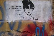 Dear Capitalism. It's not you, it's me. Just kidding, it's you. 2015, Athens, Kerameikos, Greece Artist: Lotek.